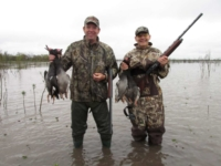 Wing Shooting Duck Hunting